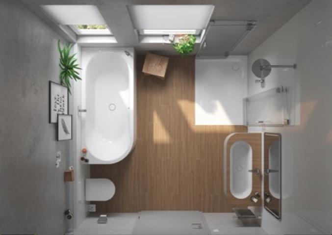 Así se agrandan los baños pequeños - Mundi-Rep Agentes de Servicios ...